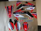 TEAM HONDA RACING  GRAPHICS  CRF250R  2004 2005 2006 2007 2008 2009  CRF250