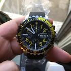 fortis b-42 chronograph Yellow Valjoux 7750 Automatic Chronograph Watch