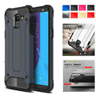Hybrid Rugged Armor Dual Protective Case Cover For Samsung Galaxy J6 2018 On6