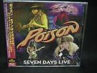 POISON Seven Days Live JAPAN 2CD Bret Michaels Devil City Angels Samantha 7