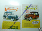 IKA JEEP WILLYS STATION WAGON  1 OLD ADVERTISING AD ARGENTINA