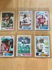 1982 Topps Football Complete Set 528 Lott & Taylor Rookie RC
