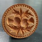 Vintage Large Butter Stamp Double Pineapple