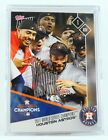 TOPPS NOW Houston Astros 2017 World Series Collector's Team Set Musgrove Auto