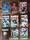 Dallas Cowboys NFL Football schedules- 1981 - 2013  (Lot of 19) *HTF*
