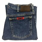 Vintage NFL Kansas City Chiefs Jeans Mens 34x32 Blue Denim Pants