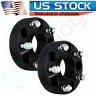 2x 15 Inch Hubcentric Wheel Spacers fits Jeep JK Wrangler Grand Cherokee Black