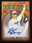 Peyton Manning 2006 Topps Auto Autograph Ring of Honor Insert SP Colts RARE MVP