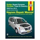 For Dodge Grand Caravan 2008-2012 Haynes Manuals Repair Manual