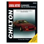 For Chevy Camaro 1982-1992 Chilton General Motors Camaro Repair Manual