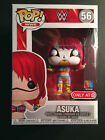 Funko Pop WWE #56 Asuka Painted Face Mask Target Exclusive New w Protector!