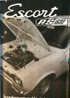 Ford Escort RS 1600 Cosworth Supplemental Manual
