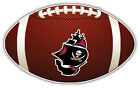 Tampa Bay Buccaneers Ship NFL Logo Ball Bumper Sticker Decal -  9'',12'' or 14''