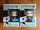 FUNKO POP BOARD GAMES MR. MONOPOLY WITH MONEY BAGS EXCLUSIVES 2 POP SET SOLD OUT
