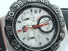 TAG HEUER Formula 1 Chronograph 41mm CAH1111 MINT STAINLESS STEEL SERVICED CLEAN