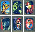 1996 MARVEL MASTERPIECES GOLD GALLERY CHASE CARDS COMPLETE 6 CARD SET