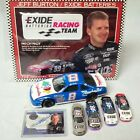Jeff burton autograph Rookie Diecast Collection Upper Deck Signed Exide Patch