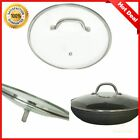 10 Inch Glass Frying Pan Saucepan Lid Replacement Cookware Lid for Pot and Pan
