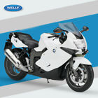 WELLY BMW K1300S in white 1 10 Scale Motorbike Motorcycle Diecast Model toy