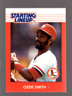 1988 Kenner Starting Lineup Cards #104 Ozzie Smith - NM-MT