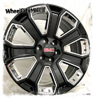 22 inch gloss black chrome 2017 GMC Sierra Yukon Denali OE replica wheels 5660