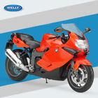 WELLY BMW K1300S in orange 1 10 Scale Motorbike Motorcycle Diecast Model toy