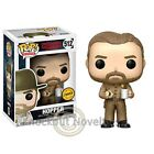 POP Television: Stranger Things - Hopper with Donut - Chase Funko! Funko Figure