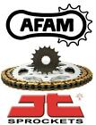 Kymco 125 Spike / Spike R 00-06 AFAM JT Chain And Sprocket Kit