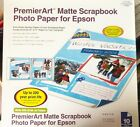 PremierArt Matte Scrapbook Photo 2 Sided Paper 12x12 by Epson10 Sheets pkg