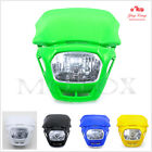 Universal Headlight Headlamp fit for Kawasaki Motocross Dirt Bike Street Fighter