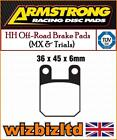 Armstrong Vordere Mx Bremsbeläge Rieju RS1 50cc 97-00 PAD990105