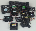 Mixed Lot of 11 Computer PC Laptop Intake Outtake 3 4 5 Pin Fans Various Brands