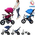 G4RCE Childrens Trike Recliner 4 in 1 Toddler Ride On Tricycle Kids Bike Cycle