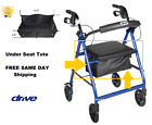 REPLACEMENT TOTE BAG ROLLATOR  DRIVE MEDICAL ~ SAME DAY FREE SHIPPING~NEW~