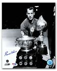 Gordie Howe Detroit Red Wings Autographed Hart and Art Ross 8x10 Photo - PSA