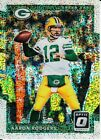 2017 Panini Optic Aaron Rodgers SPARKLE RARE Refractor SSP 20 Non Auto Packers