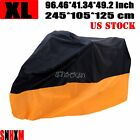 XL Motorcycle Cover For Suzuki GS 1000 1100 1150 250 300 400 450 500 550 650 750