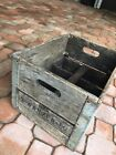 3-WANZER 50 double handle metal sides Wood MILK Box Crate Primitive CHICAGO