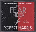 Robert Harris - The Fear Index - CD (Brand New Sealed) Audio Book