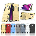 For Samsung Galaxy A6 Plus J3 J4 J7 360 Stand Slim Matte Armor Phone Case Cover