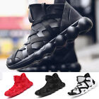 Shoes Men's  rend Fly Weave Breathable Openwork Boota Bandage Sneakers Shoes