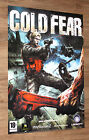 Cold Fear rare Promo Poster Playstations 2 PS2 Xbox 60x42cm