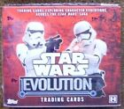 Star Wars Evolution Factory Sealed Box by Topps.