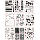 New Design Rubber Stamps Seal Stencil Handcrafts Paper Card Decor Embossing DIY