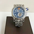 VISCONTI GRAND CRUISE GMT STEEL DIVER STEEL BRACELET ANONIMO WITH WATCH WINDER