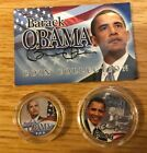Presidential Obama 2008 24K gold plated coin