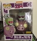 Funko Pop! Rides Zim and Gir on the Pig #41 Invader Zim Hot Topic Exclusive