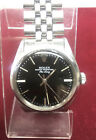 1978 Vintage Rolex Oyster Perpetual Air King Jubilee Band Black Dial