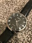 Seiko SRPA97 42mm Black Dial Automatic Men's Watch w/ Black Leather Strap