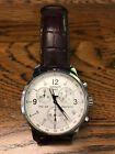 Tissot PRC 200 Mens Brown Swiss Chronograph Watch